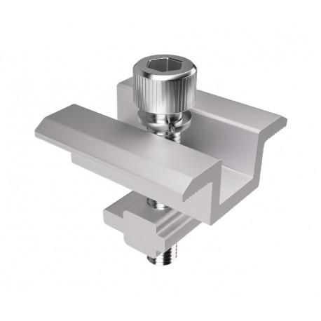 Unión panel de aluminio 35 mm. para guía Pro standar