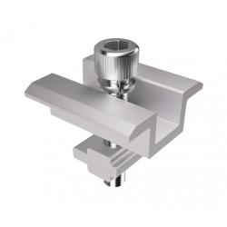 Pieza de unión panel de aluminio 40 mm. para guía Pro standar