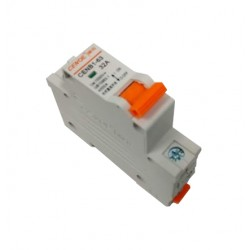 Magnetotermico 32A 1 polo DC 1000 V. Para corriente continua.
