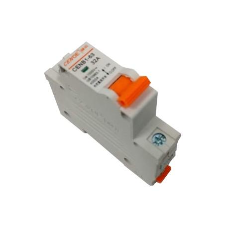 Magnetotermico 32A 1 polo DC 1000v