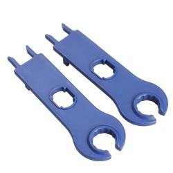Herramienta de mano para conector MC4 color azul