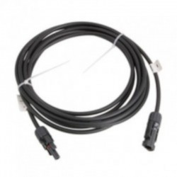 Cable 7 metros 4 mm. para paneles solares con conectores MC4.