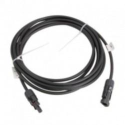 Cable 15 metros 4 mm. para paneles solares con conectores MC4.