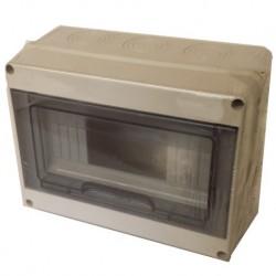 Caja de distribución eléctrica  8 elementos superficie