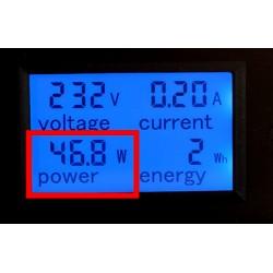 Contador de energía eléctrica alterna de 0 a 100 Amperios