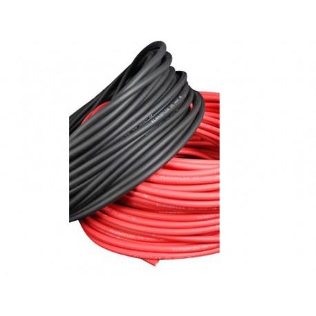 Cable unipolar 25 mm. Precio/metro color rojo. Especial baterías.