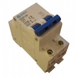 Magnetotérmico 2 polos 2A (2x2A) O.Electric