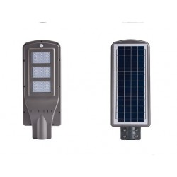 Farola Solar con PIR y LED 25W 9V DC. Equivalente a luminaria de 60W.