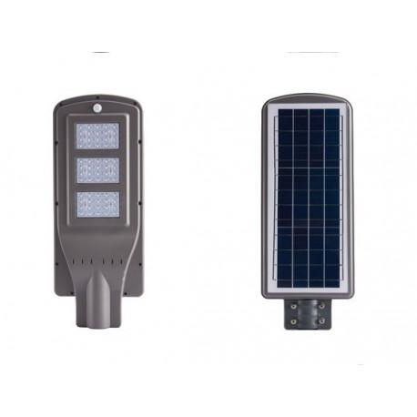 Farola Solar con PIR y LED 30W 9V DC