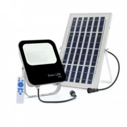 Foco Proyector LED Solar de unos 30 W ó 3600 lumen.