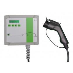 Cargador de vehículo eléctrico hasta 7.4 Kw. T2