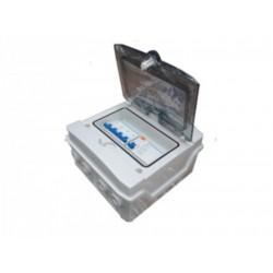 Cuadro protección rifásica corriente alterna 25A - 400Vac - Caja 1x8.