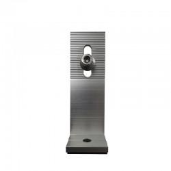 """Pieza de anclaje en """"L"""" 125 mm. con tornillo en Acero inoxidable para fijación paneles solares."""