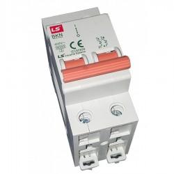 Magnetotérmico 2 polos20A (2x20A) Curva C - LS Industrial Systems