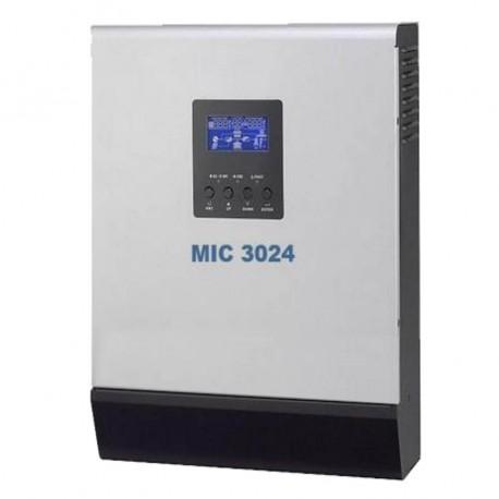 MIC V3024 Inversor aislada 24/230V 3000VA/2400W Inversor Senoidal Cargador de 60A MPPT de 60A