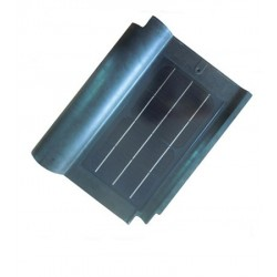 Teja solar para tejado de 1.23 Voltios y 8 Watios